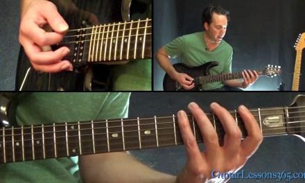 Raining Blood Guitar Lesson Pt.2 – Slayer – Chords/Rhythms