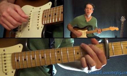 Hallelujah Guitar Lesson (Part 1) – Jeff Buckley