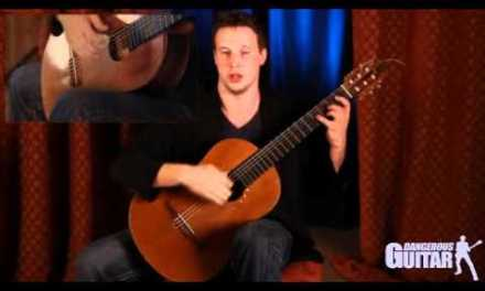 Great Finger Stretching Excercise for Classical Guitar: Learn Classical Guitar
