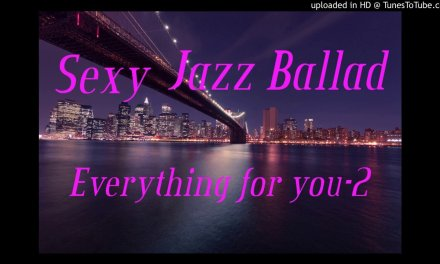 Smooth jazz guitar melodic solo on Ballad Backing Track,Everything for you-2