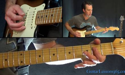 Bruce Springsteen – I'm On Fire Guitar Lesson