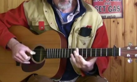 Acoustic Blues Guitar – A Touch Of Leo Kottke From Jim Bruce
