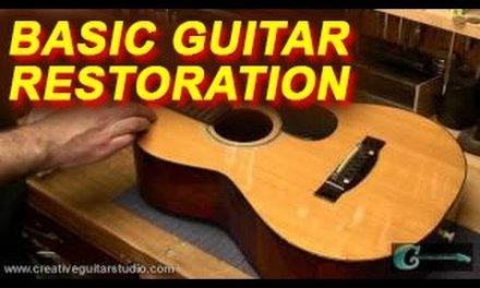 Basic Guitar Restoration Projects