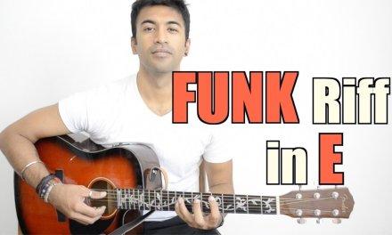 Funk Riff in E