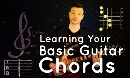 Learn Your Basic Guitar Chords