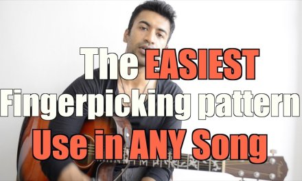 The EASIEST Fingerpicking pattern – USE IN ANY SONG