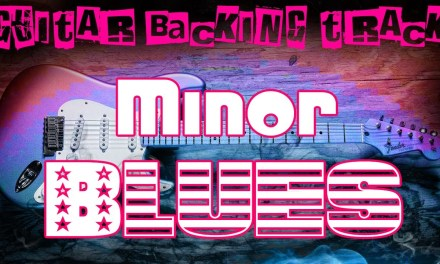 Minor Blues Guitar Backing Track (Cm) | 95 bpm – MegaBackingTracks