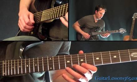 Metallica – One Guitar Lesson Pt.3 – Second Solo