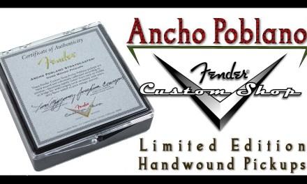 Fender Custom Shop Ancho Poblano Pickups
