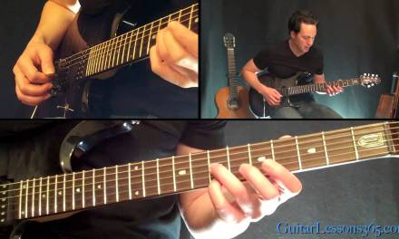Hangar 18 Guitar Lesson – Megadeth – Famous Riffs
