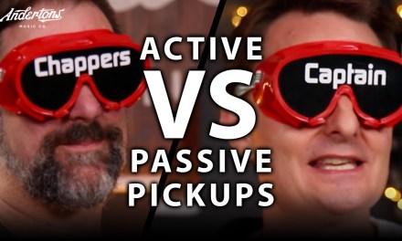 Active Pickups vs Passive Pickups – The Blindfold Challenge!!