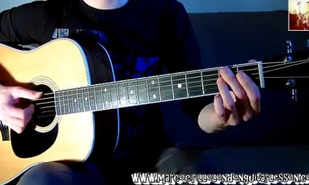 Lesson #1 All of Me John Legend Fingerstyle Guitar Lesson Chords Melody FREE TAB