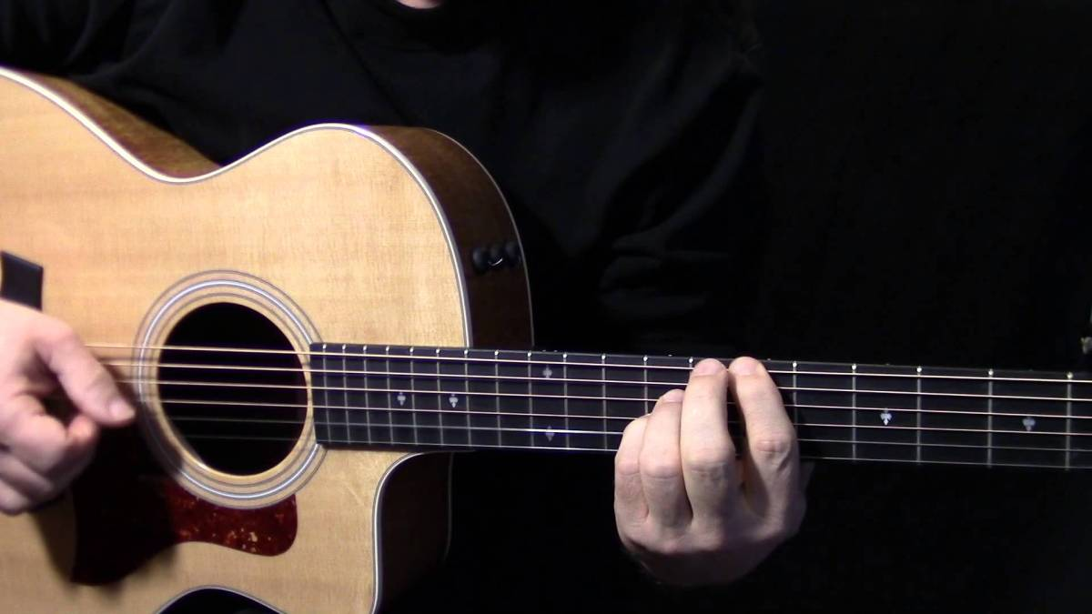How To Play Wondering Where The Lions Are On Guitar By Bruce