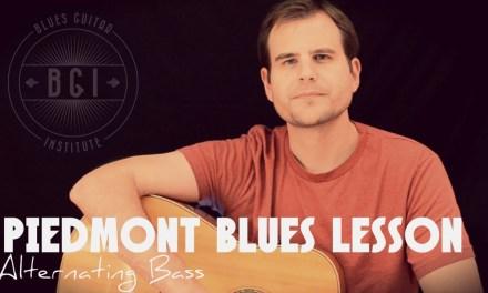 Beginner Piedmont Blues Finger Picking Lesson