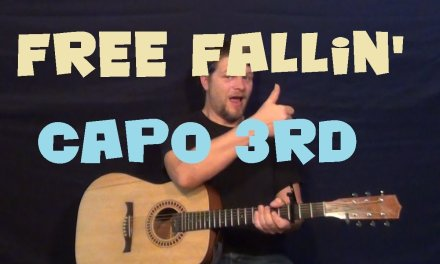 Free Fallin' (Tom Petty) Guitar Lesson Chords How to Play Easy Strum