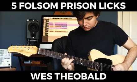 Folsom Prison Blues Guitar Lesson – Country Guitar Licks | Wes Theobald