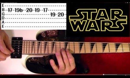 STAR WARS – Main Theme – Guitar Lesson