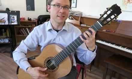 Lesson: Tanz by Fuhrmann for Classical Guitar (Easy)