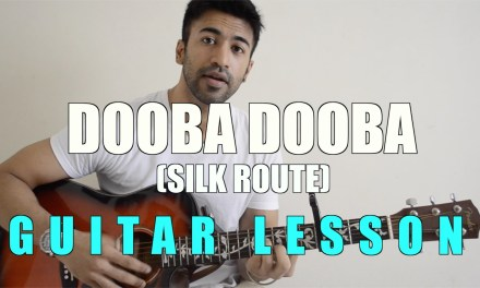 #08 – Dooba Dooba (PLUS two changes to make it sound BETTER) – Guitar lesson – Complete and Accurate