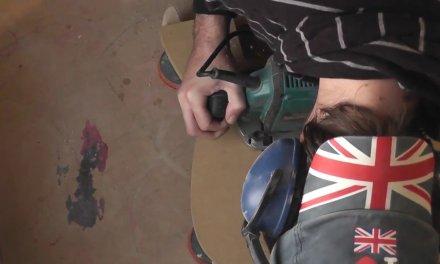 Old Jackson face lift – part 1 | Guitar repair