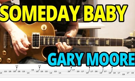 Someday Baby by Gary Moore – Blues Guitar Lesson