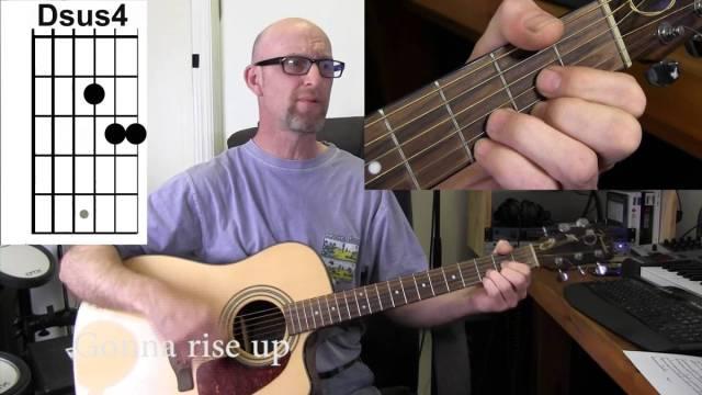 EDDIE VEDDER (Pearl Jam) – RISE Acoustic guitar tutorial with chords ...