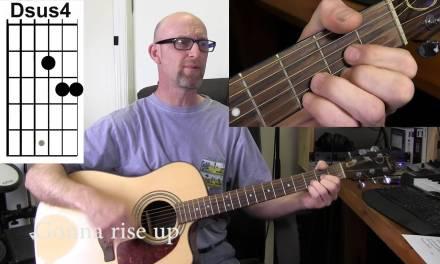 EDDIE VEDDER (Pearl Jam) – RISE  Acoustic guitar tutorial with chords/lyrics