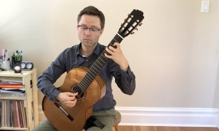 Brouwer Etude No. 12 (Estudios Sencillos) and Lesson for Guitar