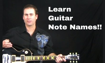 How To Find Notes On Your Guitar – Guitar Lesson