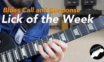 Call and Response Blues Guitar Lesson – Lick of the Week PLUS backing Track