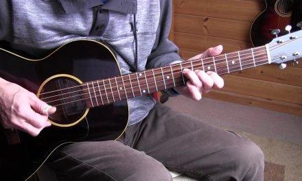 Fingerpicking Blues Lesson -Going Down Slow – Geoff Bradford/Lightnin' Hopkins style