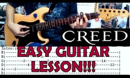 My Sacrifice – Creed(Complete Guitar Lesson/Cover)with Chords and Tab