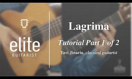 Learn to play Lagrima by Tarrega – EliteGuitarist.com Classical Guitar Tutorial Part 1/2