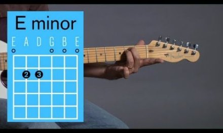 How to Play an E Minor Open Chord | Guitar Lessons