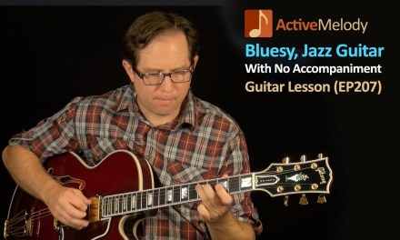 Bluesy, Jazz Guitar Lesson Inspired By Kenny Burrell – Solo Guitar Lesson (No Accompaniment) – EP207