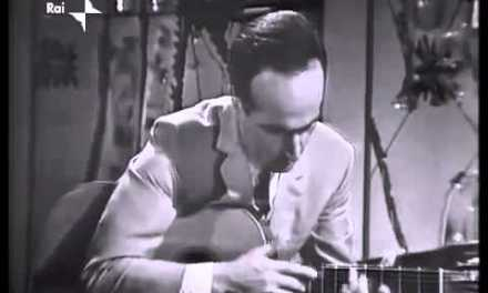 Van Halen did NOT invent tapping!!… This Italian guy did in 1965!!!