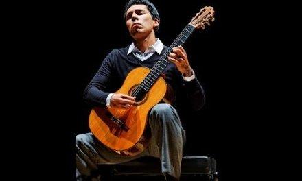 Interpretation of Astor Piazzolla's Oblivion for classical guitar