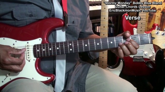 How To Play Stormy Monday Bobby Blue Bland Guitar Chords Lesson