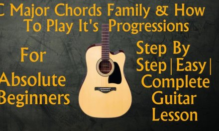 Basic Guitar Lesson|know chords of any songs|C Major Chords Family & It's Progressions|GL#8