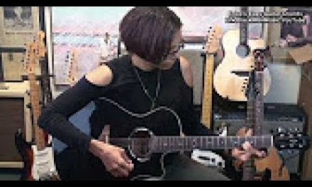 Erica's Easy Guitar Chord Progressions #1 Am-Am9 EricBlackmonGuitar