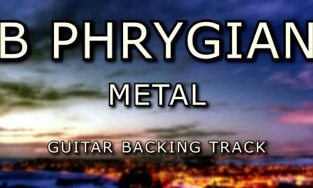 B Phrygian Metal Guitar Backing Track [ 7 String ]