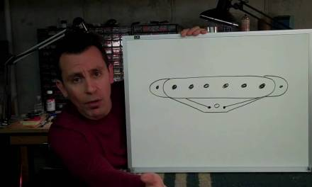 Guitar Pickup Repair Detail – Billy Penn 300guitars.com