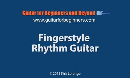 Bluesy Fingerstyle Rhythm – A Guitar Lesson.