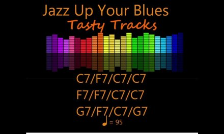 Jazz Up Your Blues Guitar Backing Track – Jam Track – Play Along In C Major