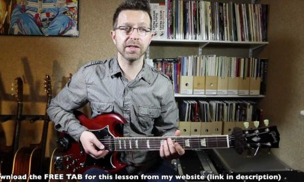 CAGED System (Major), Lesson 3: the major pentatonic scale, chords & root shapes (guitar lesson)