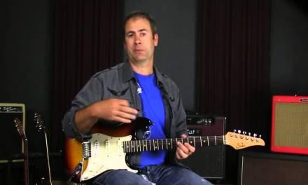 Blues Guitar Lesson: SRV Triplet Lick Over The V Chord