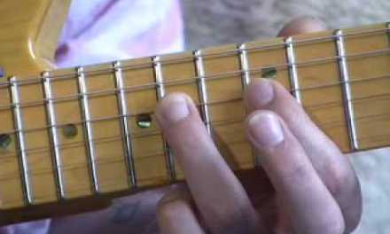 Blues Lead Guitar: Position 4 Scales #13of20 (Guitar Lesson BL-023) How to play