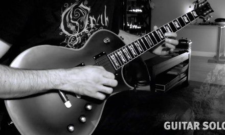 Rock/Metal Guitar Solo over a C Minor Backing Track