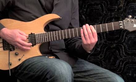Fast Fingers – Speed Picking Exercise, A Minor Pentatonic Scale, slow – medium – fast