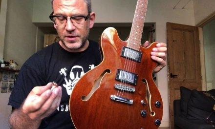 1974 Condor Jazz ES345 copy Hollowbody Repair